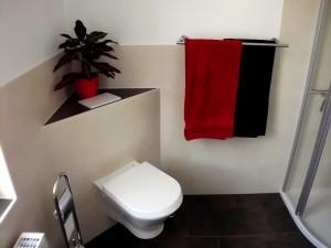 WC in Komforthöhe Ferienwohnung Villa Schubert in Weimar