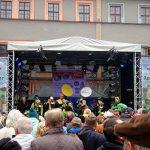 Bühne auf dem Weimarer Zwiebelmarkt