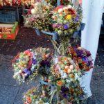 Gestecke auf dem Zwiebelmarkt Weimar