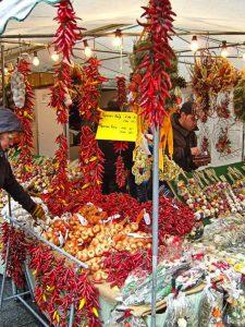 Paprika-Verkauf | Zwiebelmarkt Weimar | Ausflugsziele Weimar